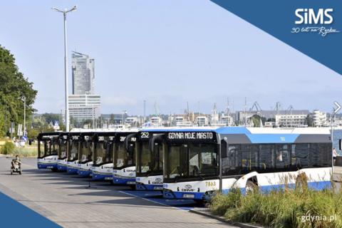 Nowe autobusy klasy MIDI w Gdyni